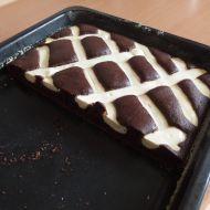 Kakaová buchta s tvarohovým prošíváním recept