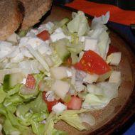 Salát s řapíkatým celerem a sýrem recept