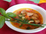 Letní rajčatovo  papriková polévka recept