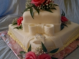 Můj první svatební dort recept