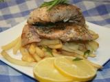 Glazované podkovy z lososa recept