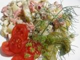 Bramborový salát s matjesy recept