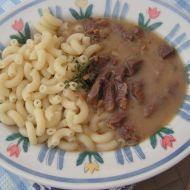 Hovězí guláš od naší babičky recept