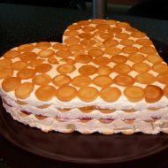 Nepečený tvarohový dort recept