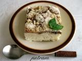 Banánovo-skořicový koláč s drobenkou bez lepku, mléka a vajec ...