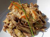 Kuřecí prsa s houbami shiitake a smetanovou omáčkou recept ...