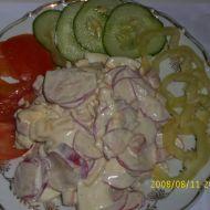 Ředkvičkový salát s vejci recept