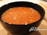 Čínská červená polévka recept