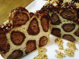 Leopardí buchta recept