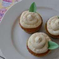 Velikonoční cupcakes medem a ořechy recept