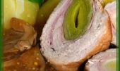 Pórkové rolády na houbách recept