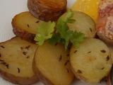 Sádlové brambory v pečicím sáčku recept