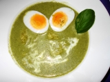 Brčálník – špenátová polévka recept