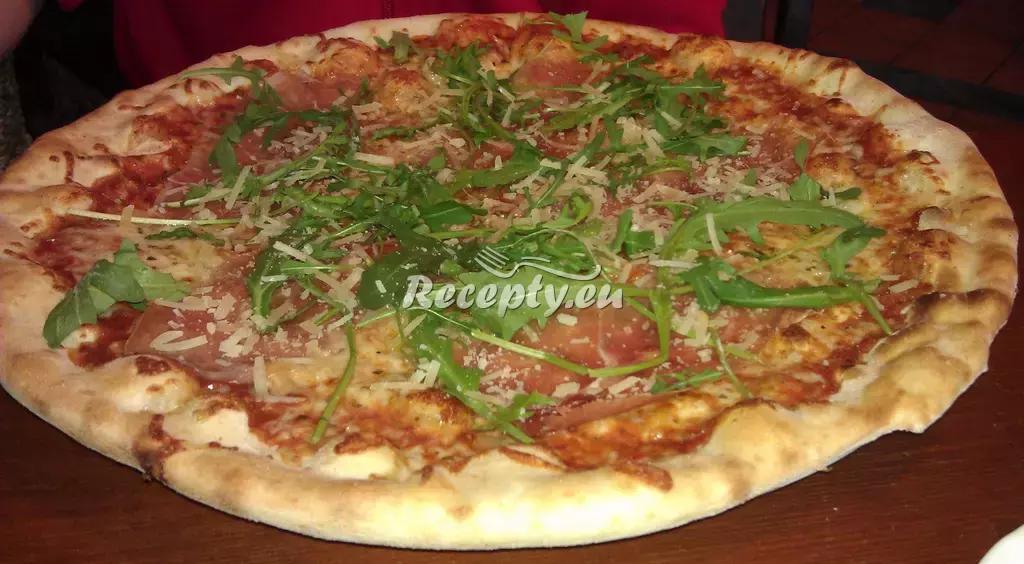 Italská pizza II. recept  pizza