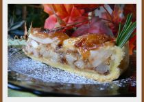 Letní koláč s limetkovo-tvarohovým krémem a bobulovým ovocem ...