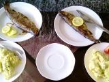 Pstruh s citronem a tymiánem recept
