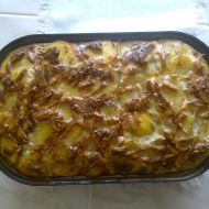 Francouzské brambory s uzeným recept