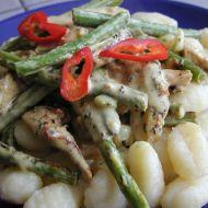 Gnocchi s fazolkami recept