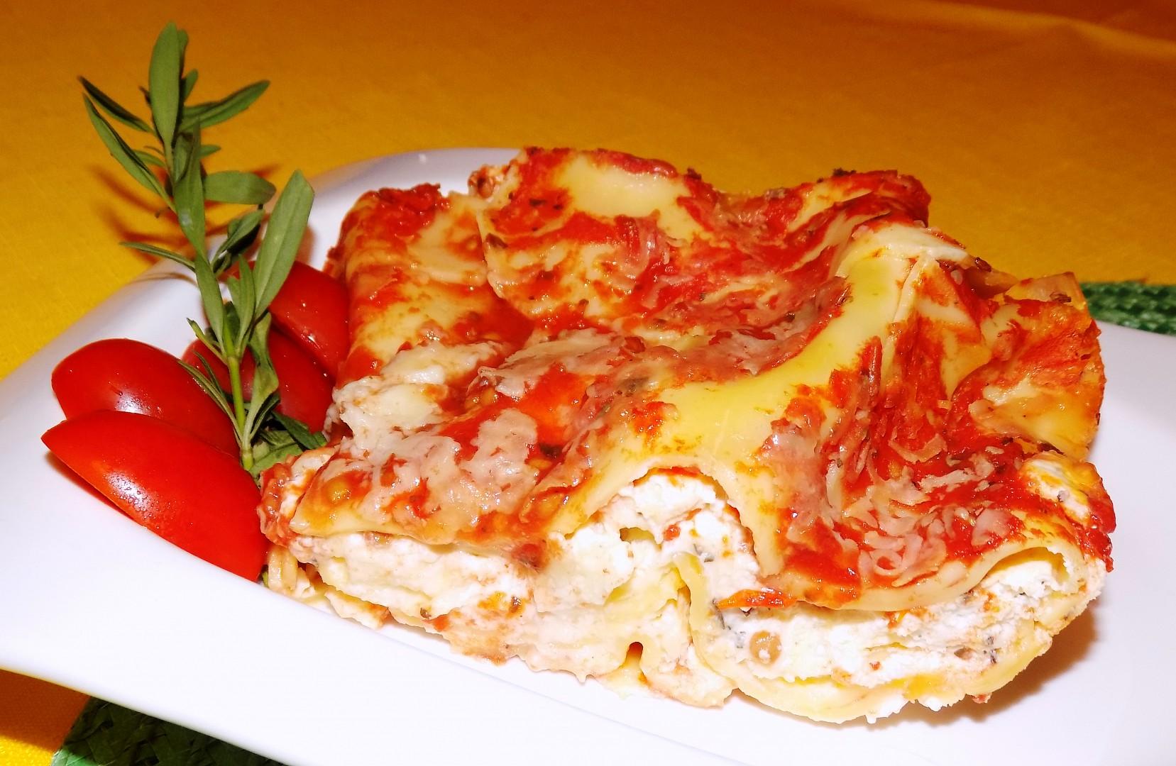 Lasagne s mascarpone recept