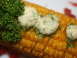 Grilovaná kukuřice s bylinkovým máslem recept