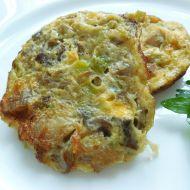 Mini omeletky s hlívou ústřičnou recept