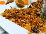Krupava granola recept