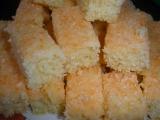 Kokosové řezy se smetanou recept