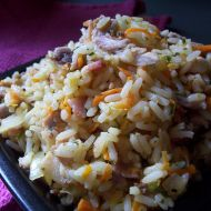 Slaninové rizoto recept