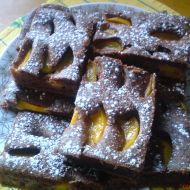 Kefírová buchta s broskvemi recept