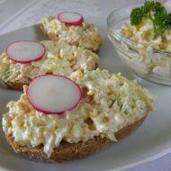 Vajíčková pomazánka s celerem recept