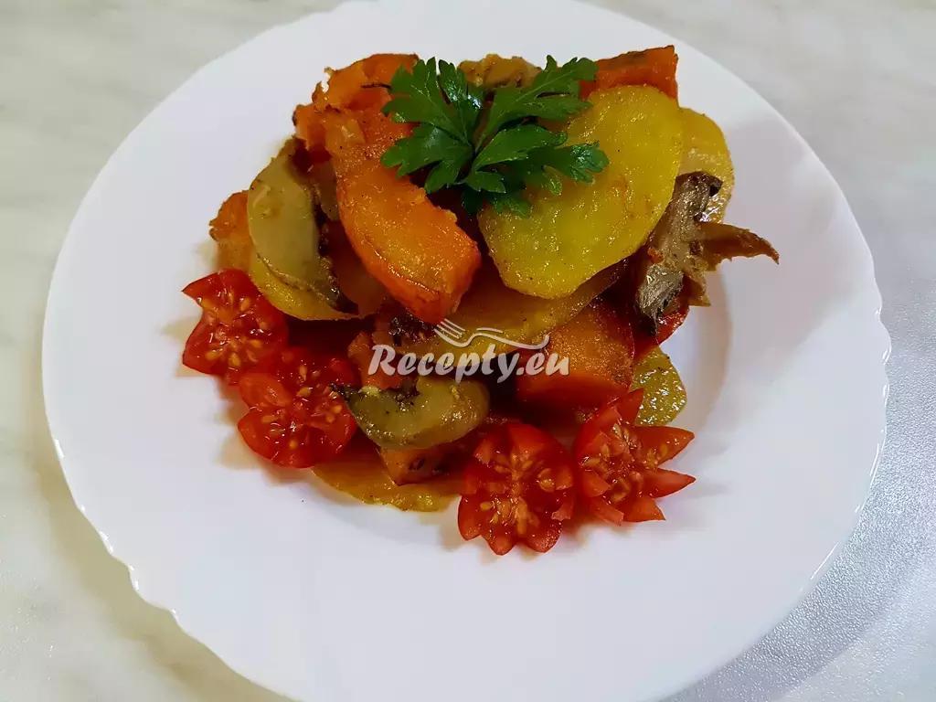 Pečená dýně Hokaido s bramborem recept  zeleninové pokrmy ...