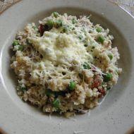 Zdravé zeleninové rizoto s tuňákem recept