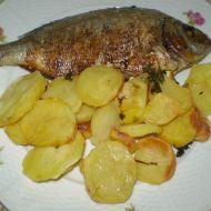 Pražma s pečenými brambory recept