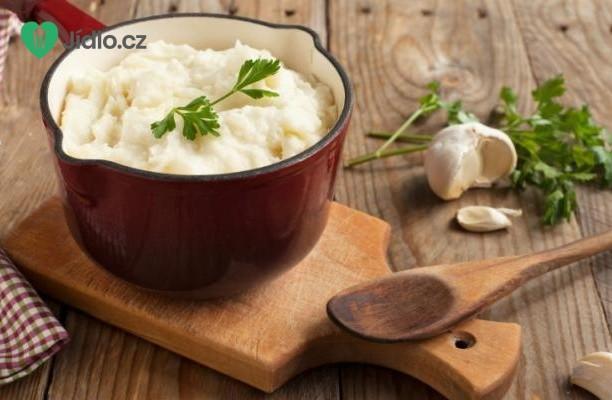 Recept Česneková bramborová kaše