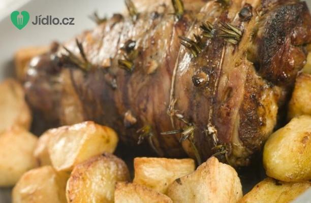 Recept Řecké pečené jehněčí s novými brambory