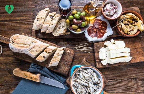 Recept Španělské tapas