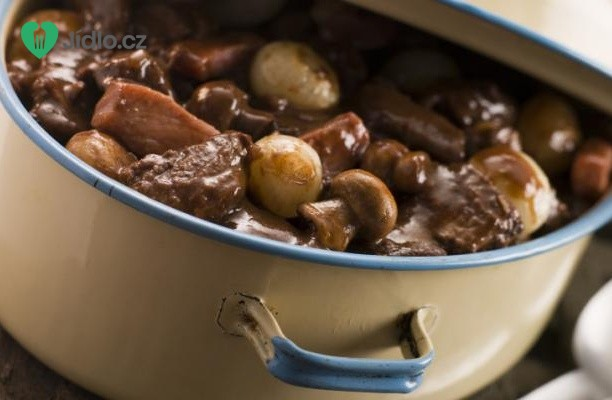 Recept Hovězí po burgundsku