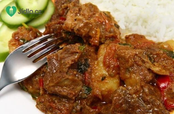Recept Indický hovězí guláš