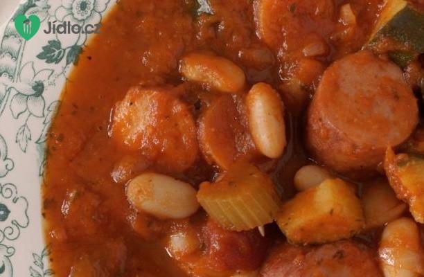 Recept Italská polévka s klobásou