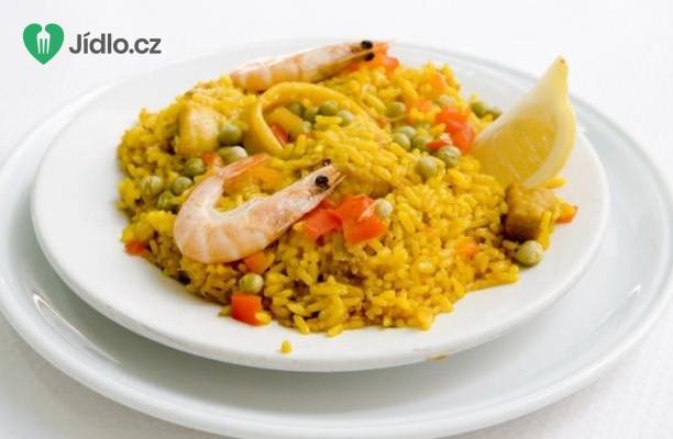 Recept Jednoduchá paella s mořskými plody
