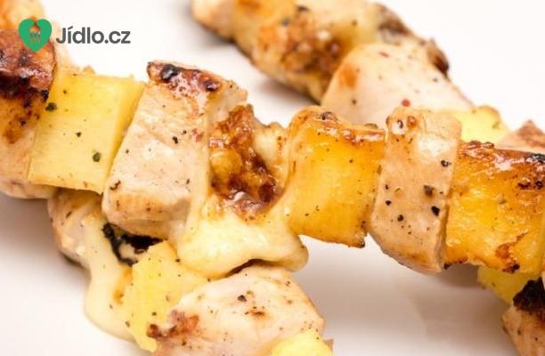 Recept Kuřecí špízy s ananasem