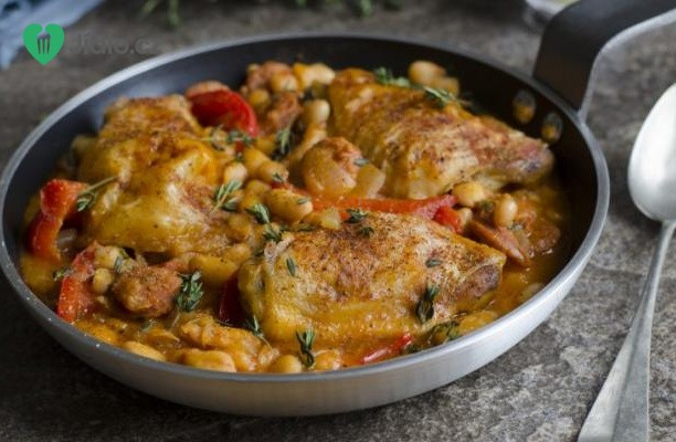 Recept Kuřecí chilli s papričkami chipotle