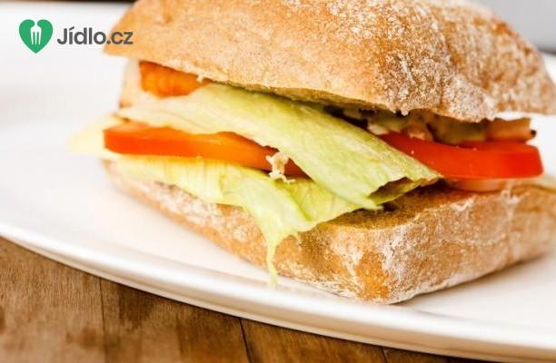 Recept Kuřecí sendvič s mozzarellou