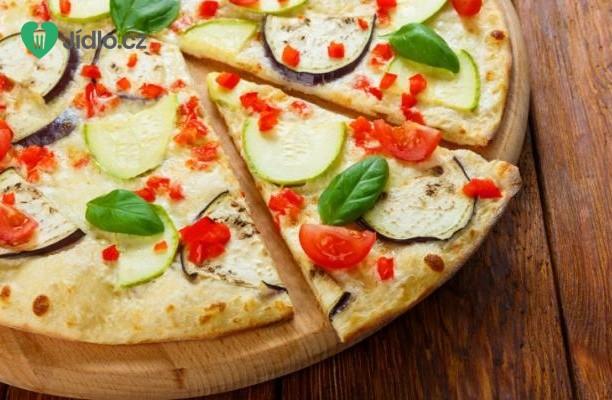Recept Letní pizza s cuketou