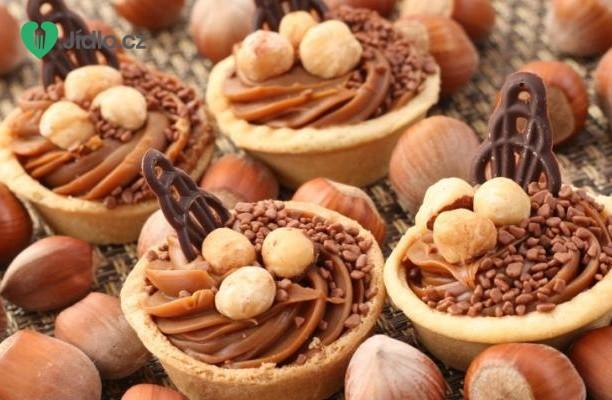 Recept Linecké košíčky s ořechy