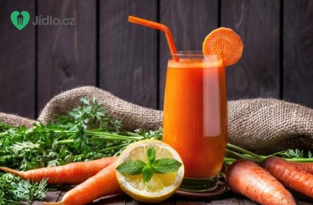 Recept Pomerančový džus s mrkví
