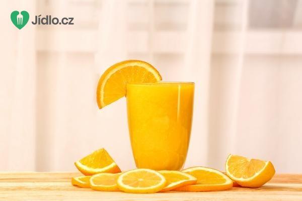 Recept Pomerančové smoothie