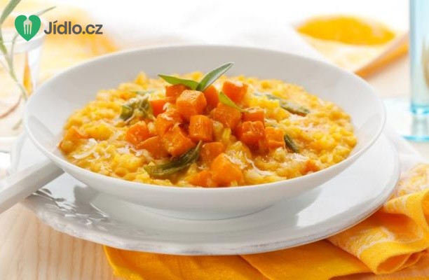 Recept Rizoto s máslovou dýní na šalvěji