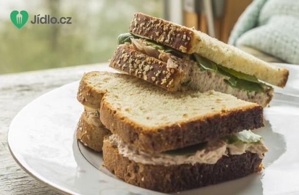 Recept Sendvič s tuňákovým salátem