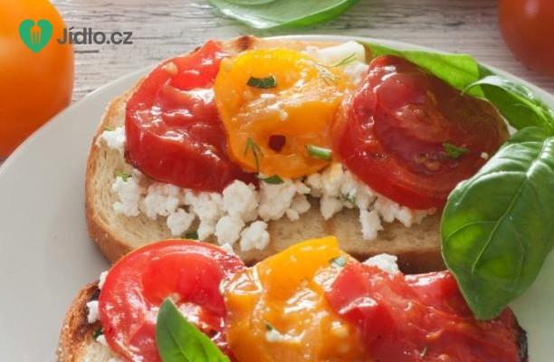 Recept Topinky s rajčaty